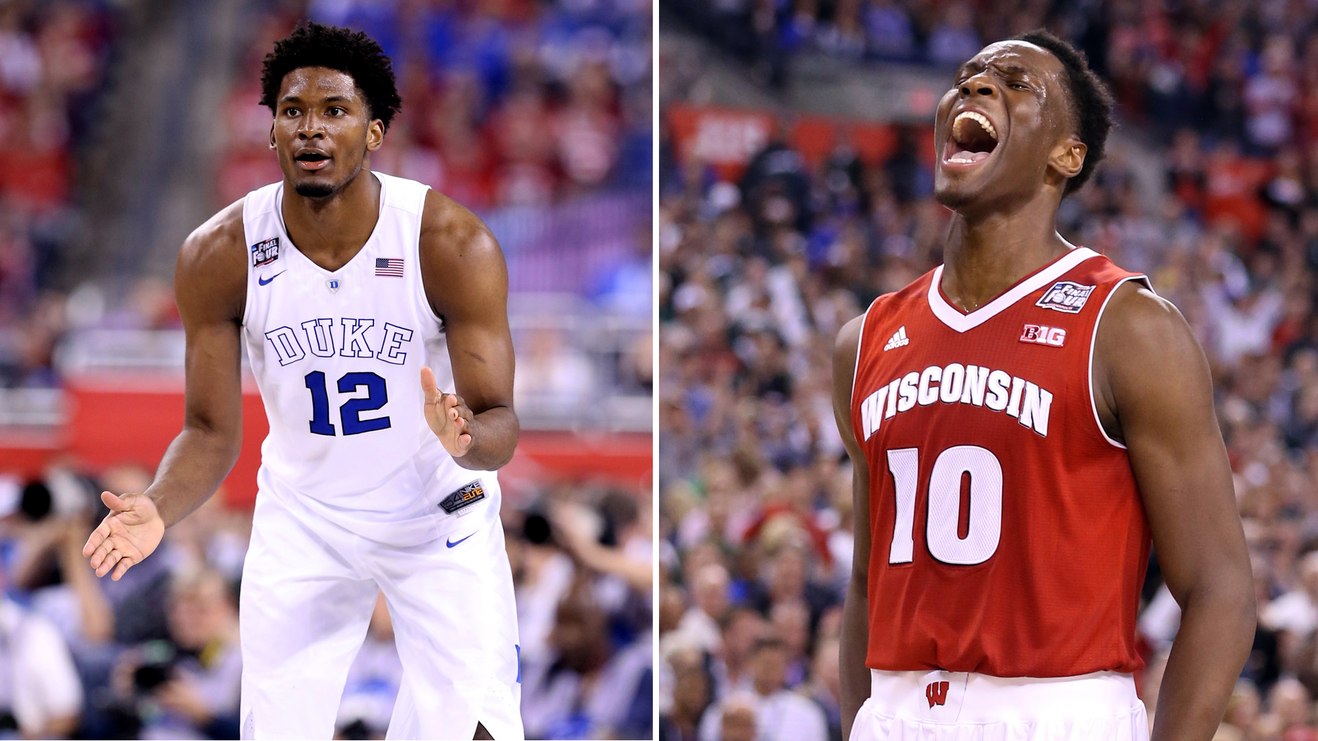 Bettors split on Wisconsin, Duke