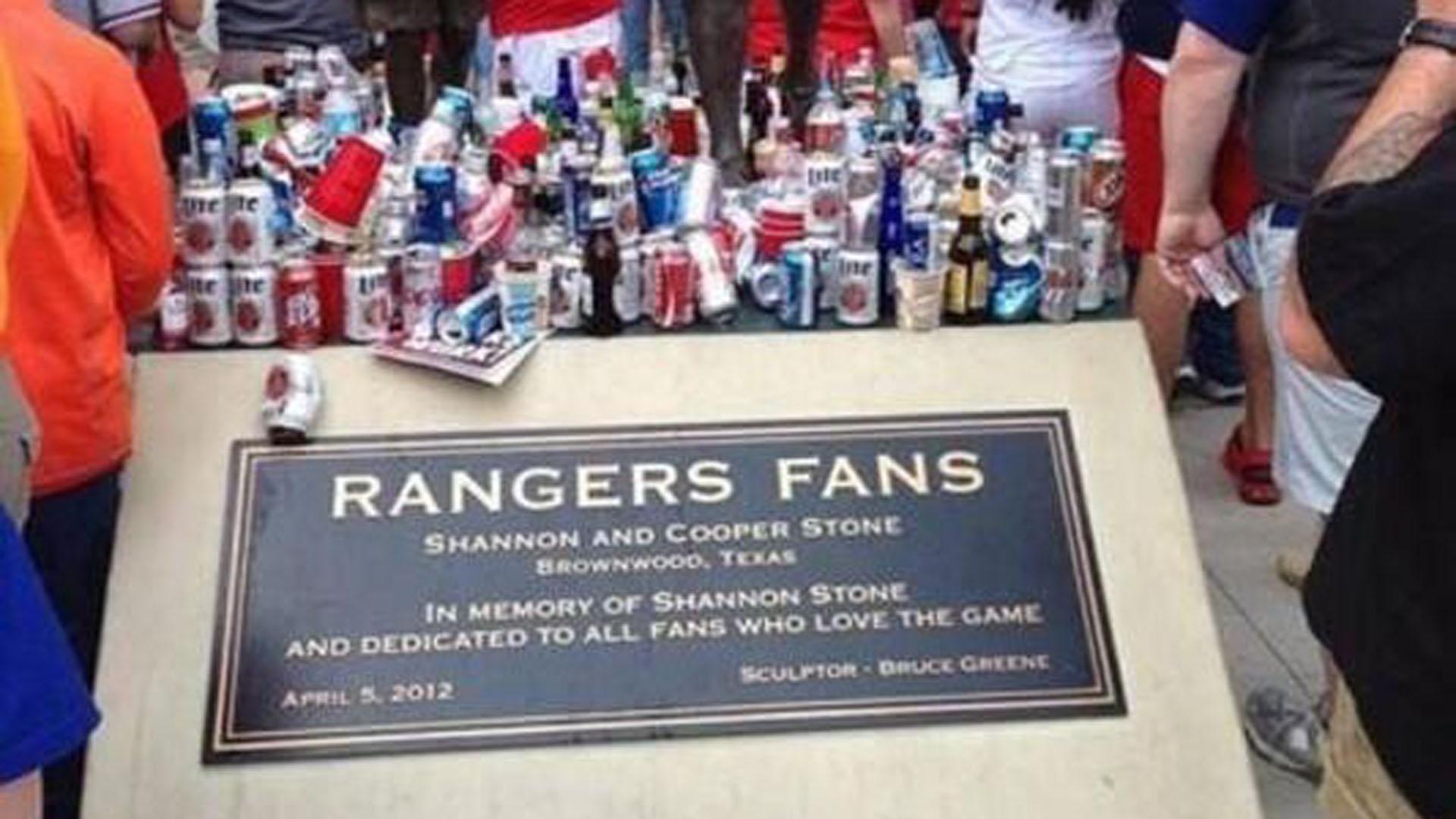 Rangers statue