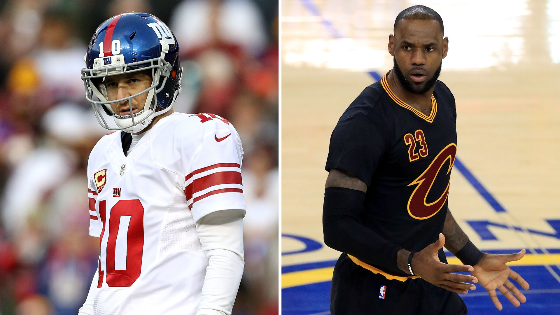 Eli Manning like LeBron? Damon Harrison explains