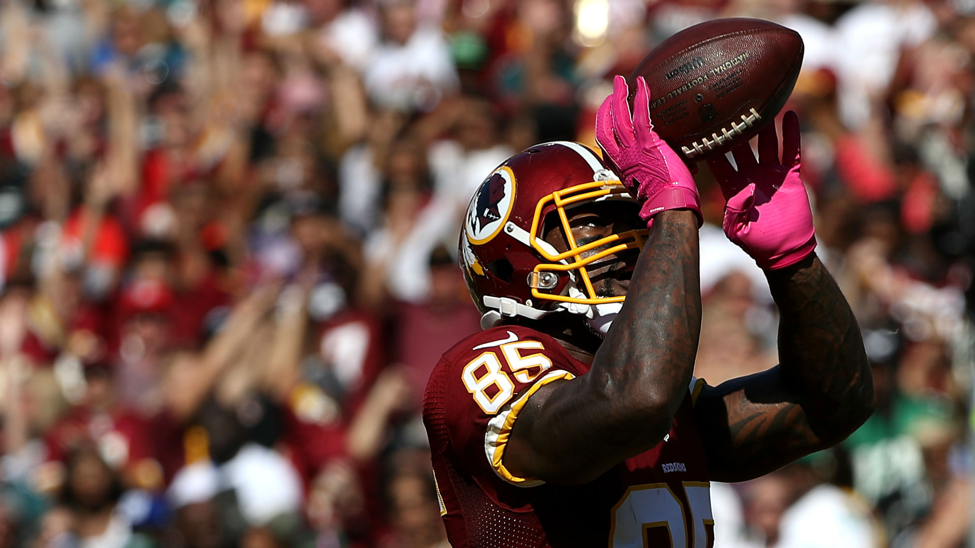 Without TE Jordan Reed, Redskins can lean on Vernon Davis