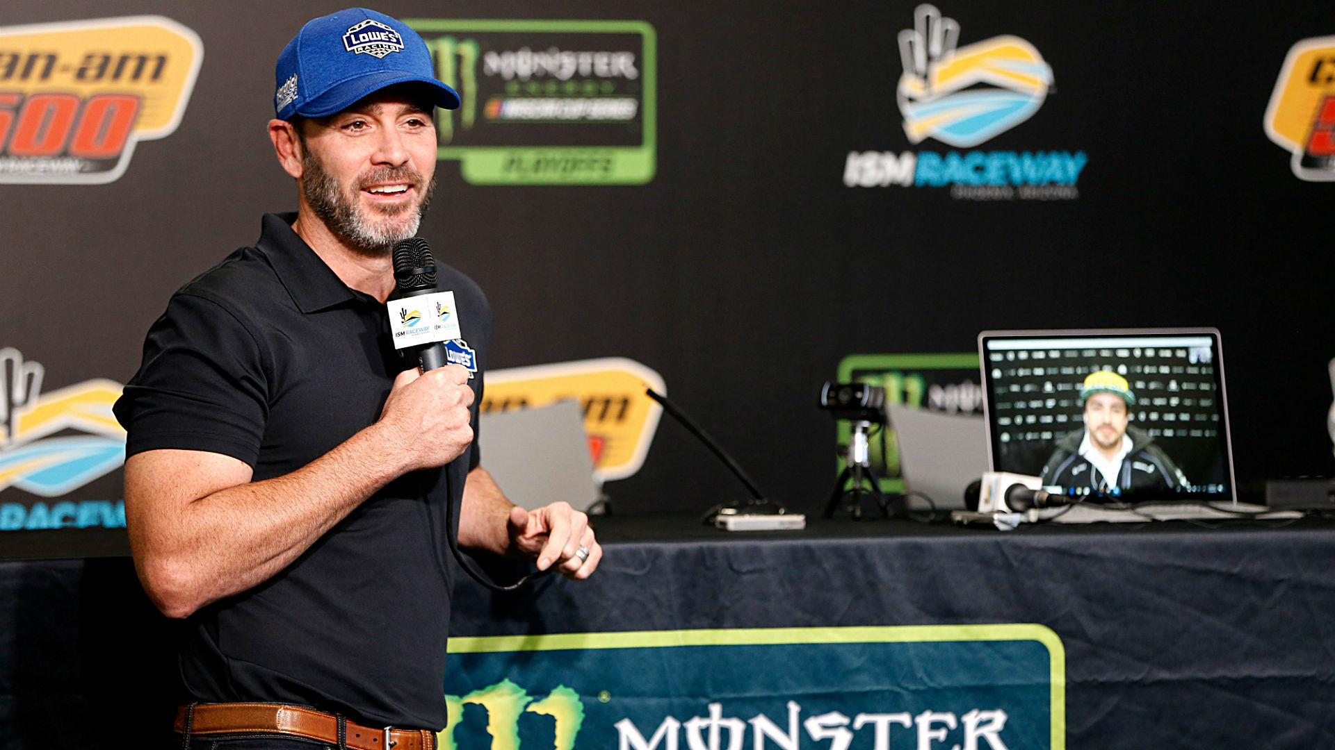 Jimmie Johnson psyched for car swap with Formula 1 champ Fernando Alonso