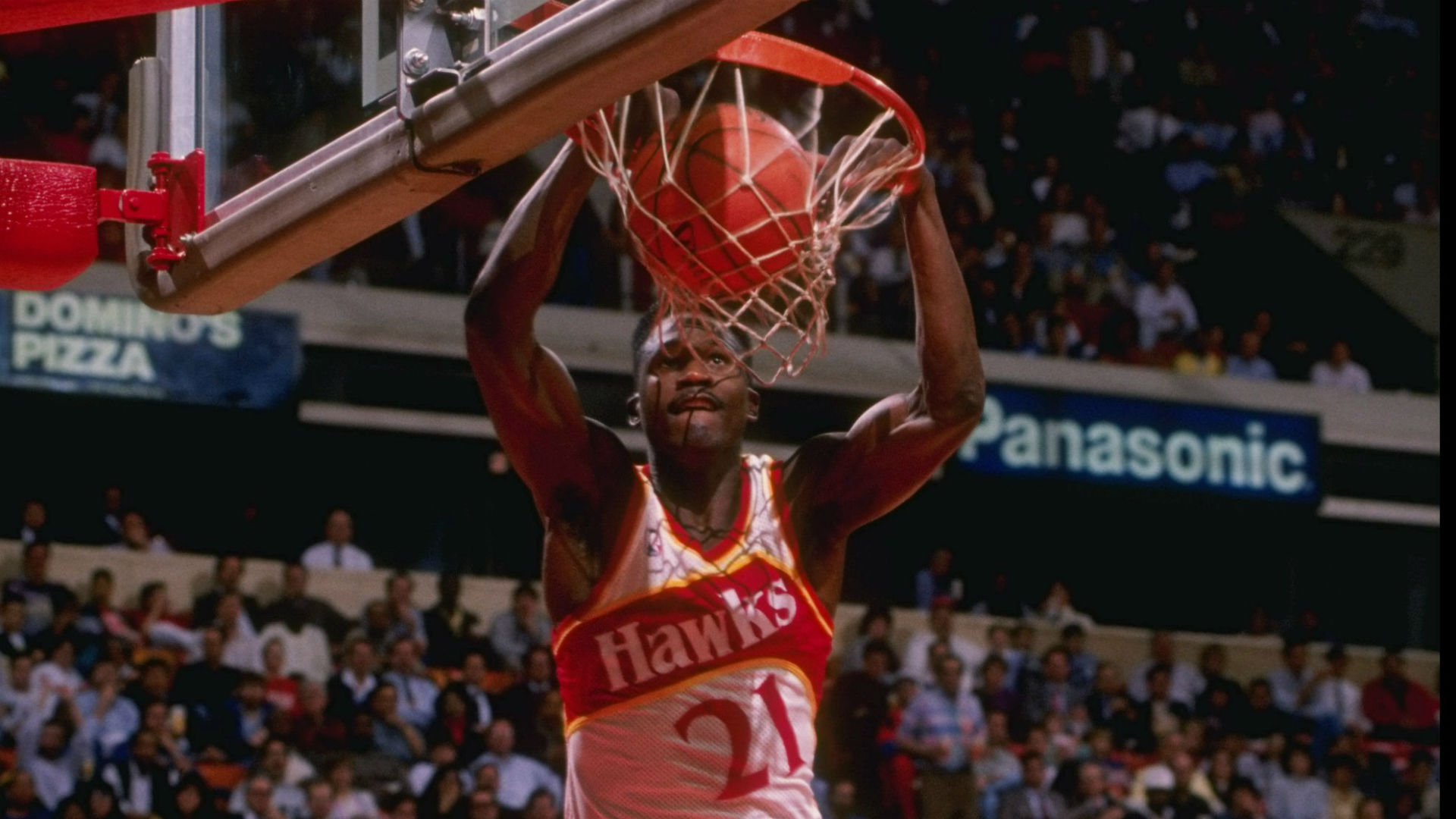 Dominique Wilkins still thinks he beat Michael Jordan in 1988 Slam Dunk Contest | Other Sports ...