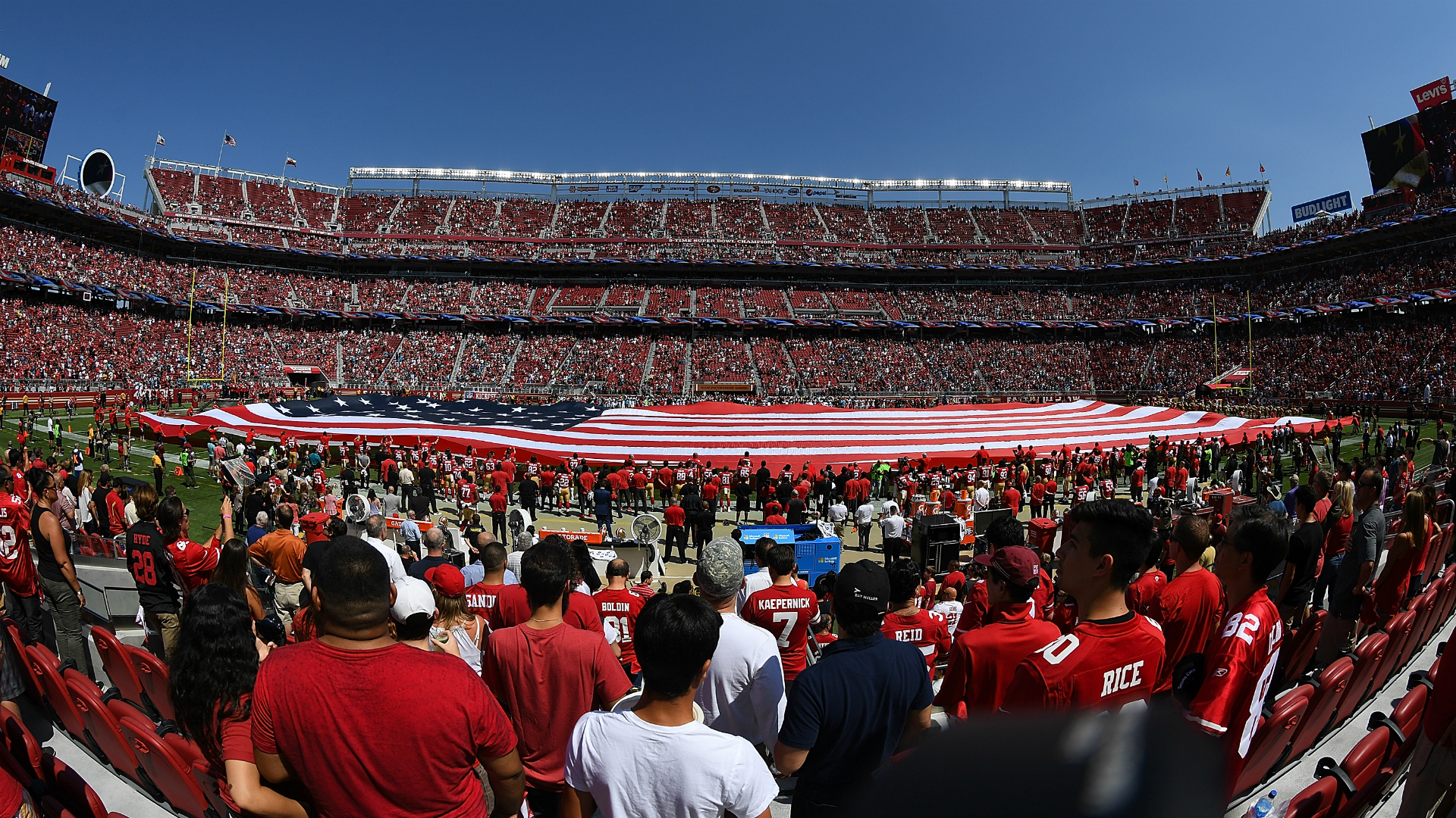 NFL players have a constitutional right to protest the national anthem