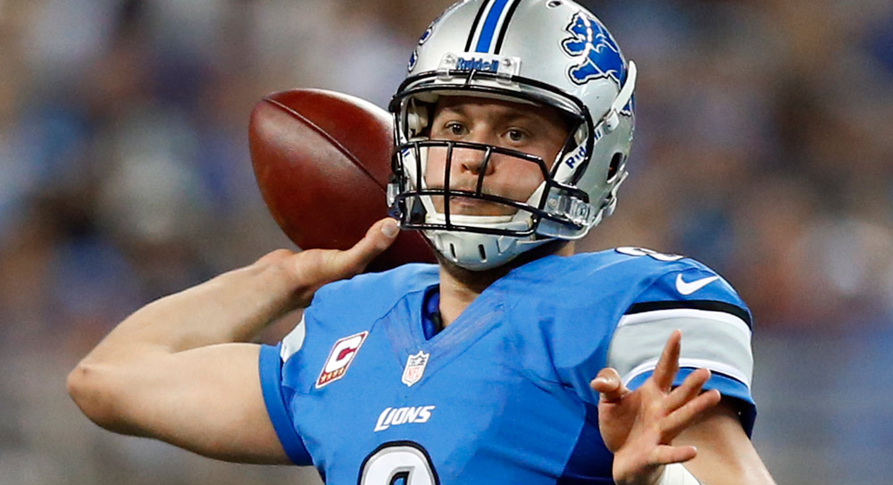 Week 8 DraftStreet Picks: Banking on big game from Stafford