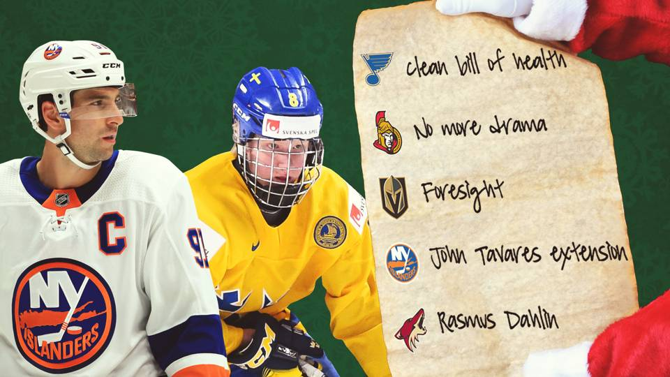 f002226f0a2  Tis the season of giving  Holiday wish lists for each of the 31 NHL teams