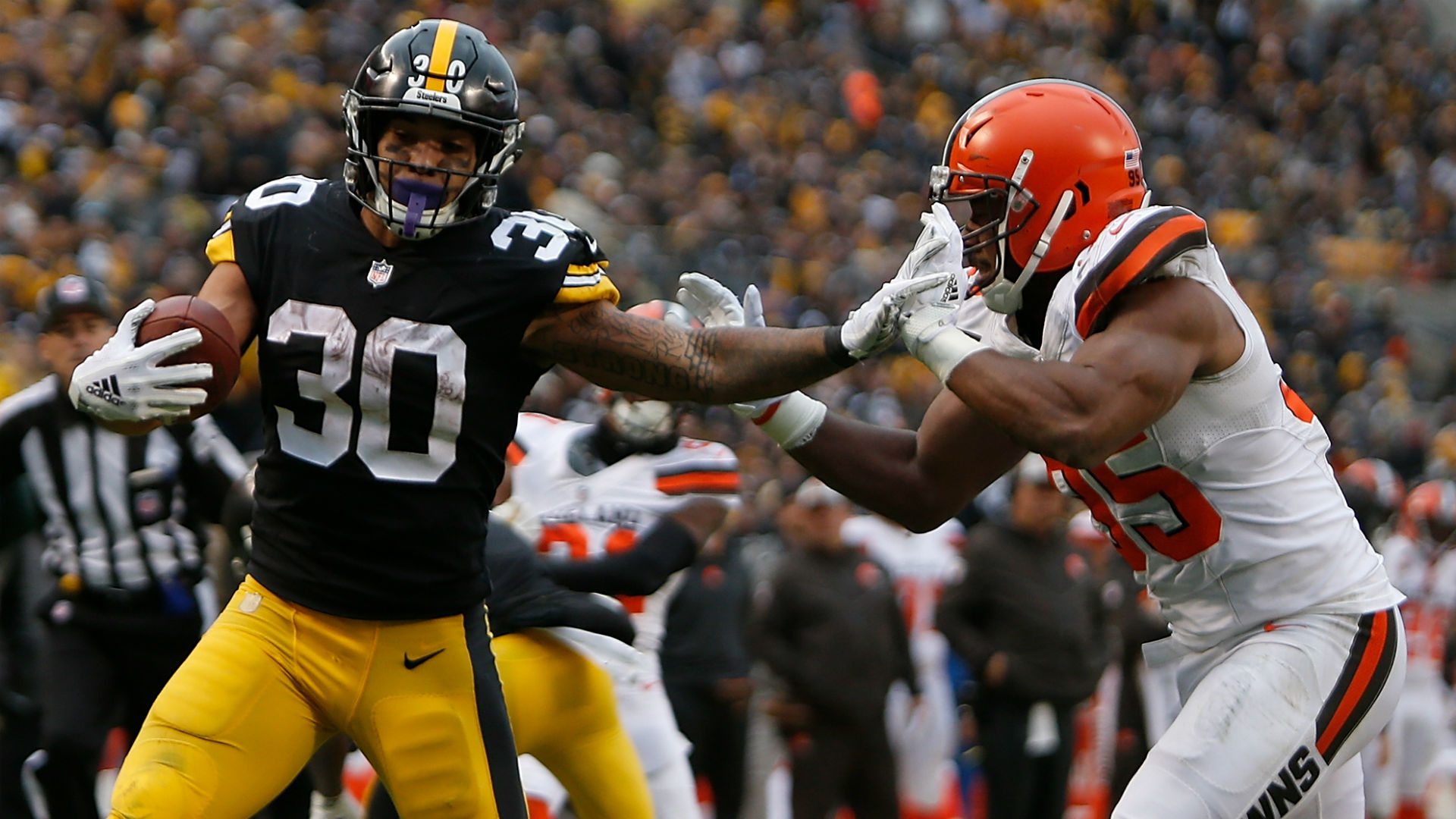 NFL picks, predictions for Week 11: Steelers top Browns, Texans get by Ravens, 49ers roll
