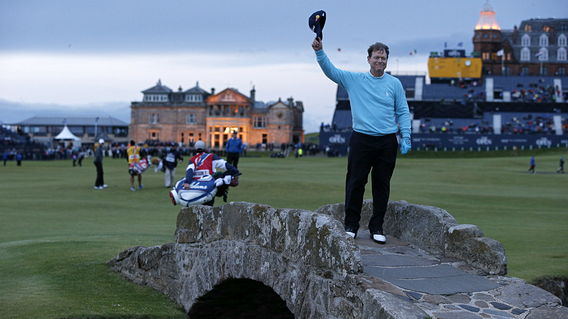 as tom watson says farewell  look back at his british open