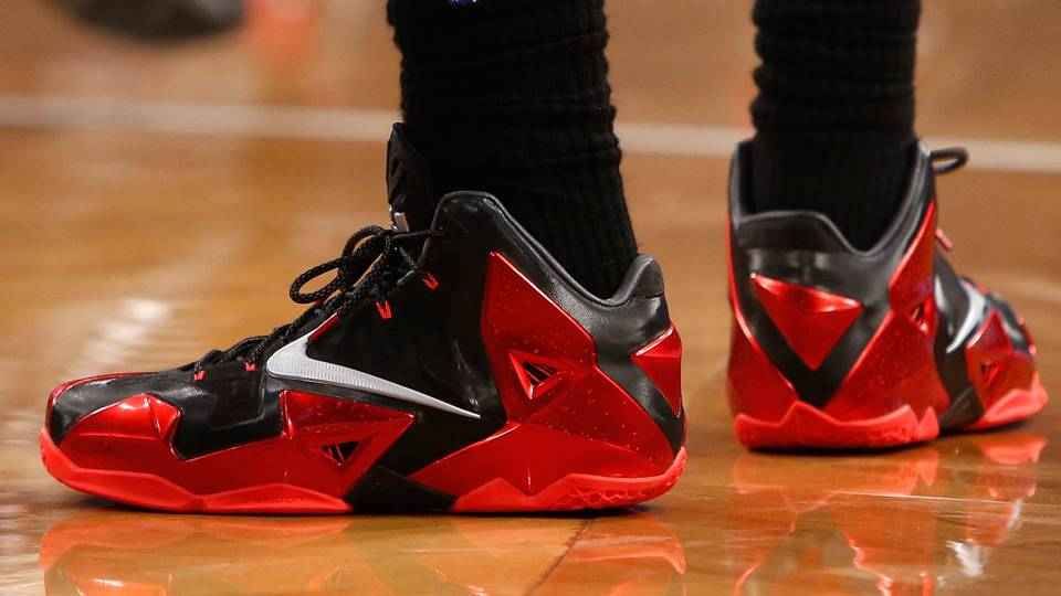 c46e58fae7d ... LeBron James not wearing new shoes because fit isn t right  Lebron Shoes FTR 120613 AP.jpg