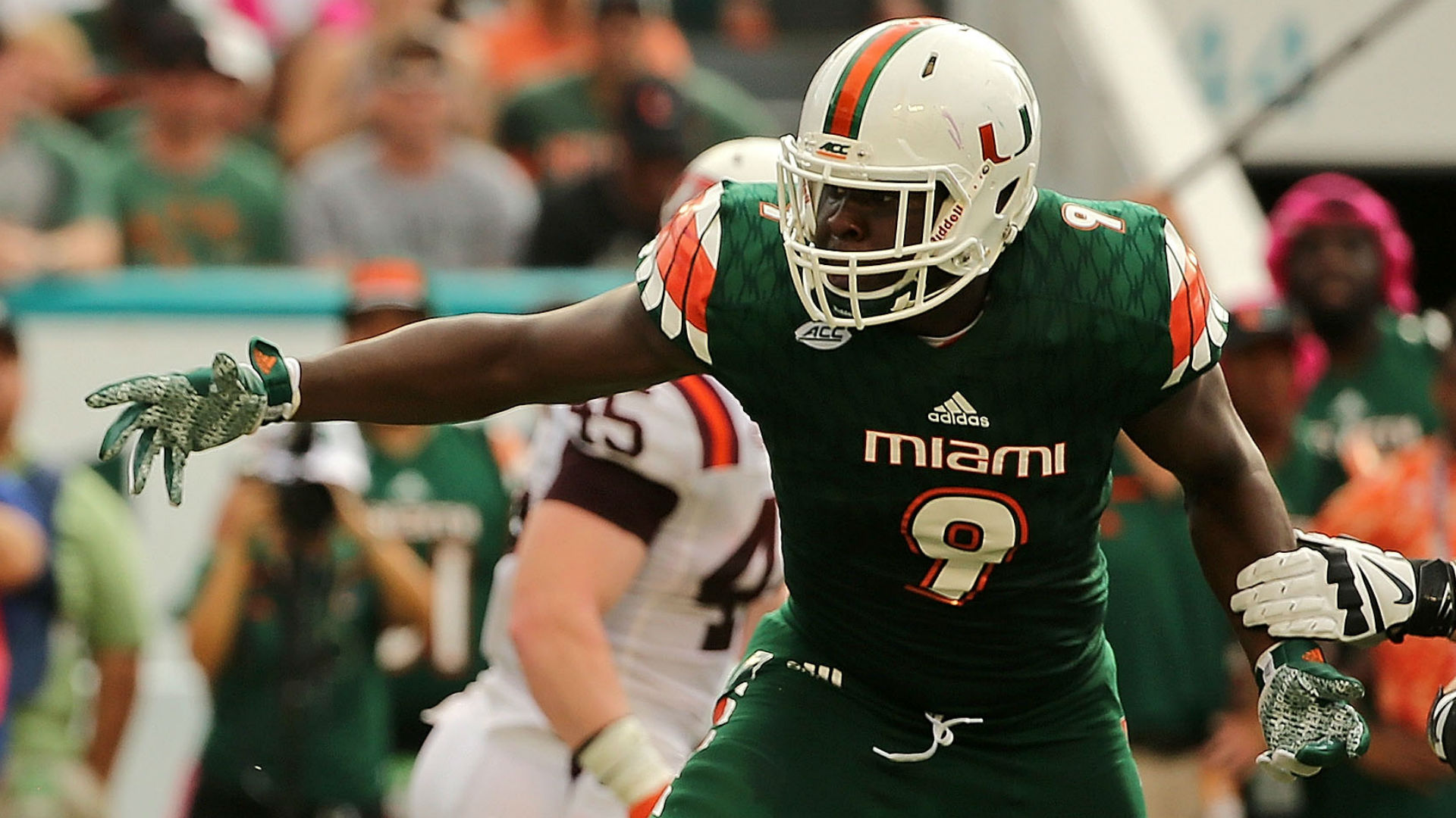 NFL Draft: Panthers' Marty Hurney among those scouting Miami-UVA