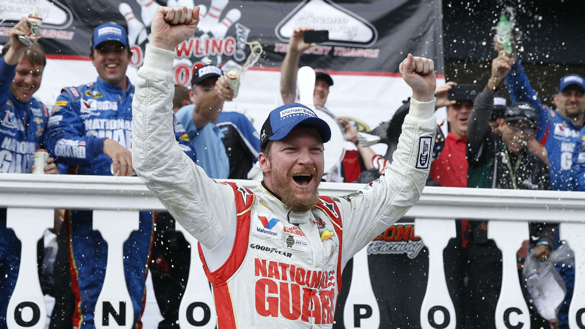 NASCAR at Pocono: Time, TV channel, online streaming, starting lineup