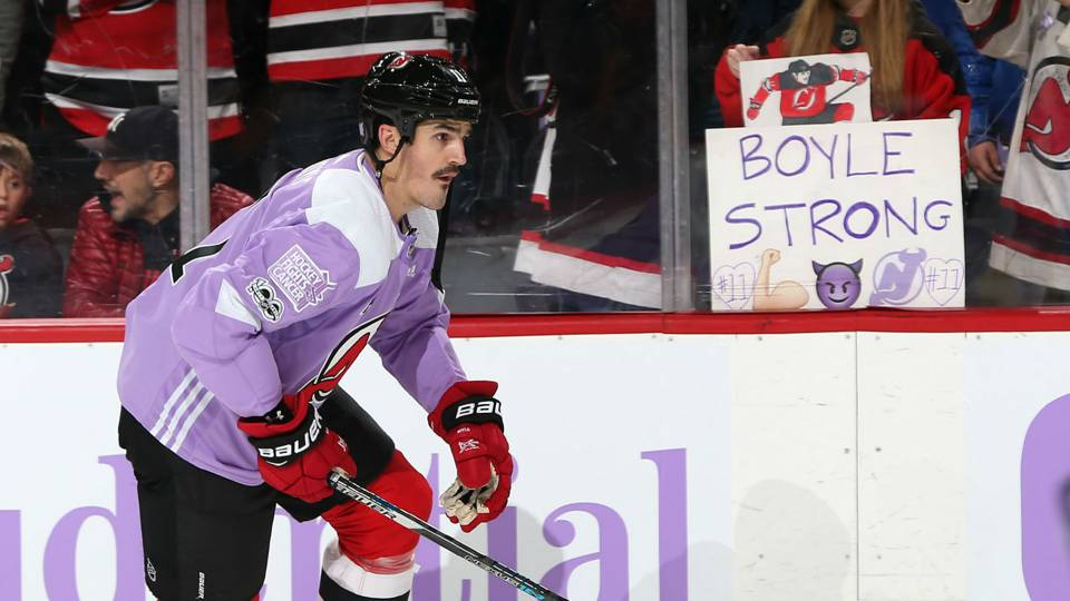 Brian Boyle and his story are what make sports great