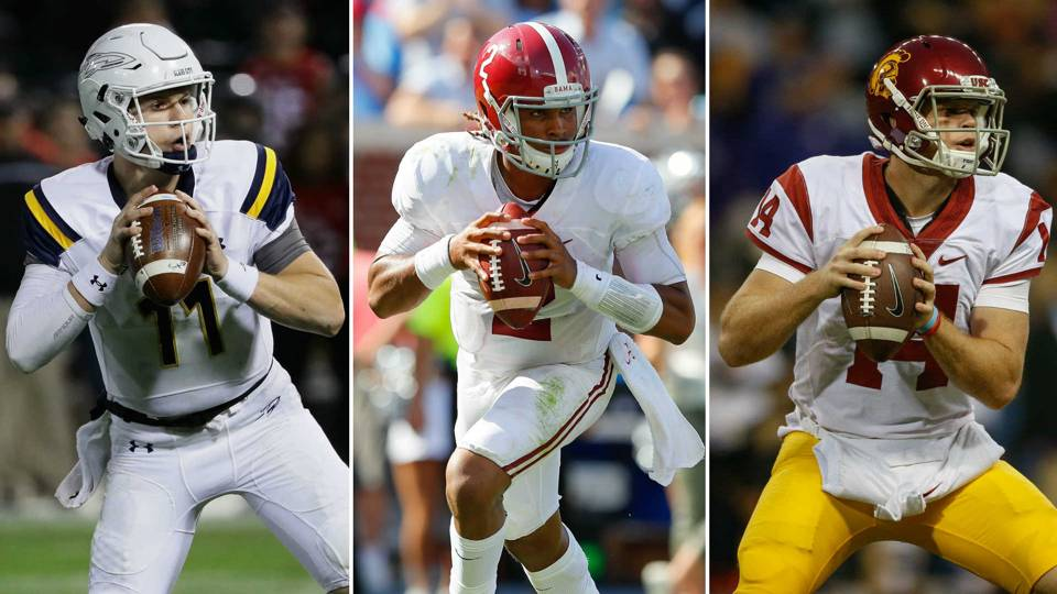 Logan Woodside-Jalen Hurts-Sam Darnold-111316-GETTY-FTR