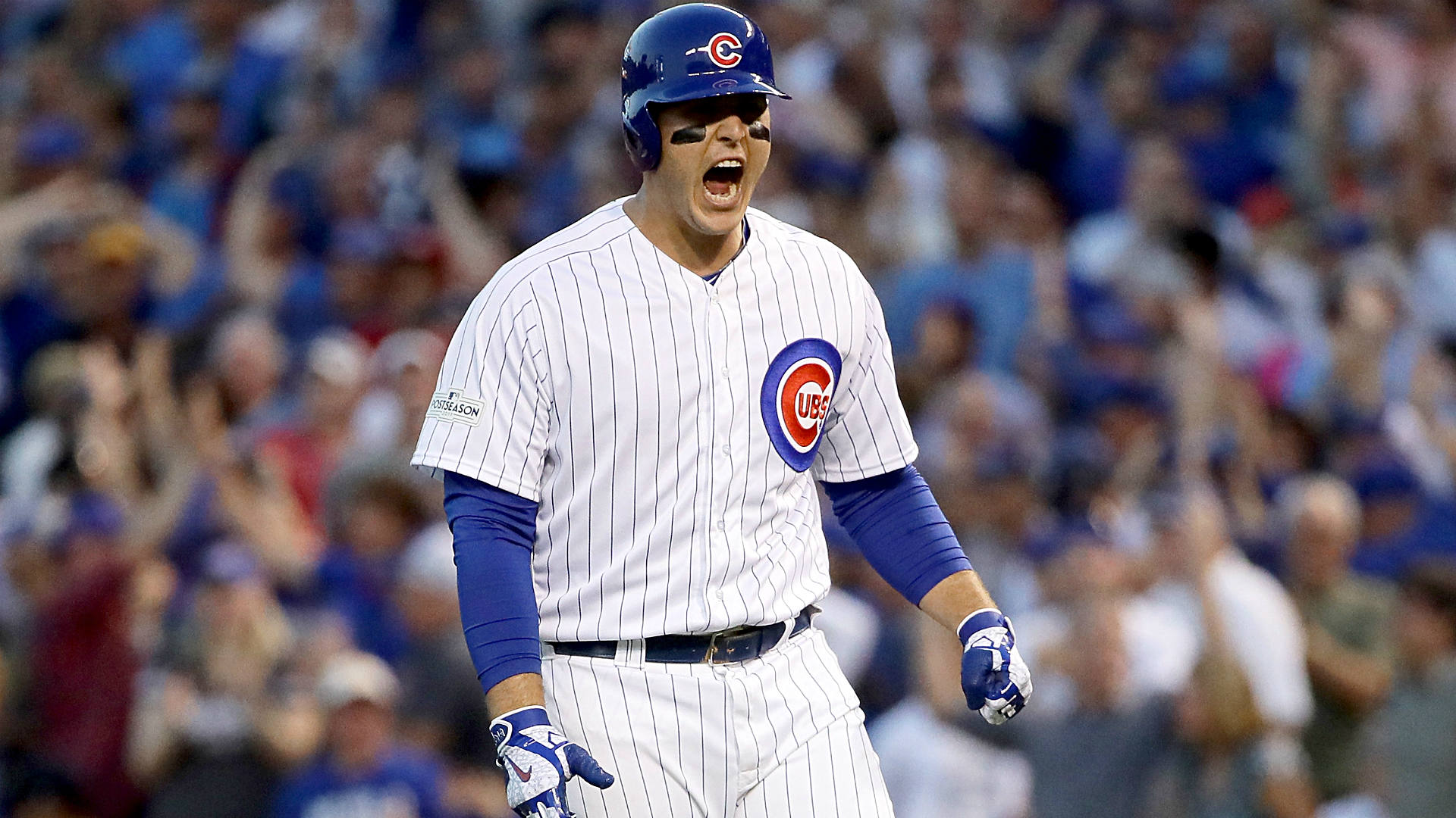 Cubs' Anthony Rizzo Screams 'Respect Me' After Winning Hit