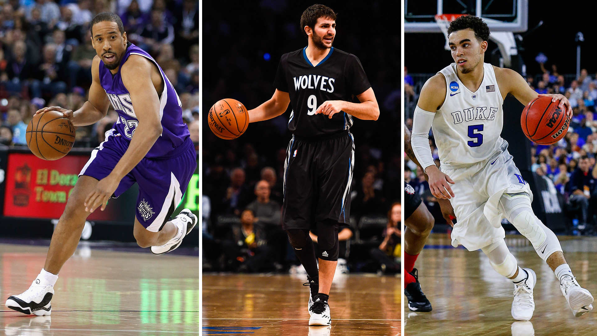 Ricky Rubio is the Timberwolves' point guard, now and in the future