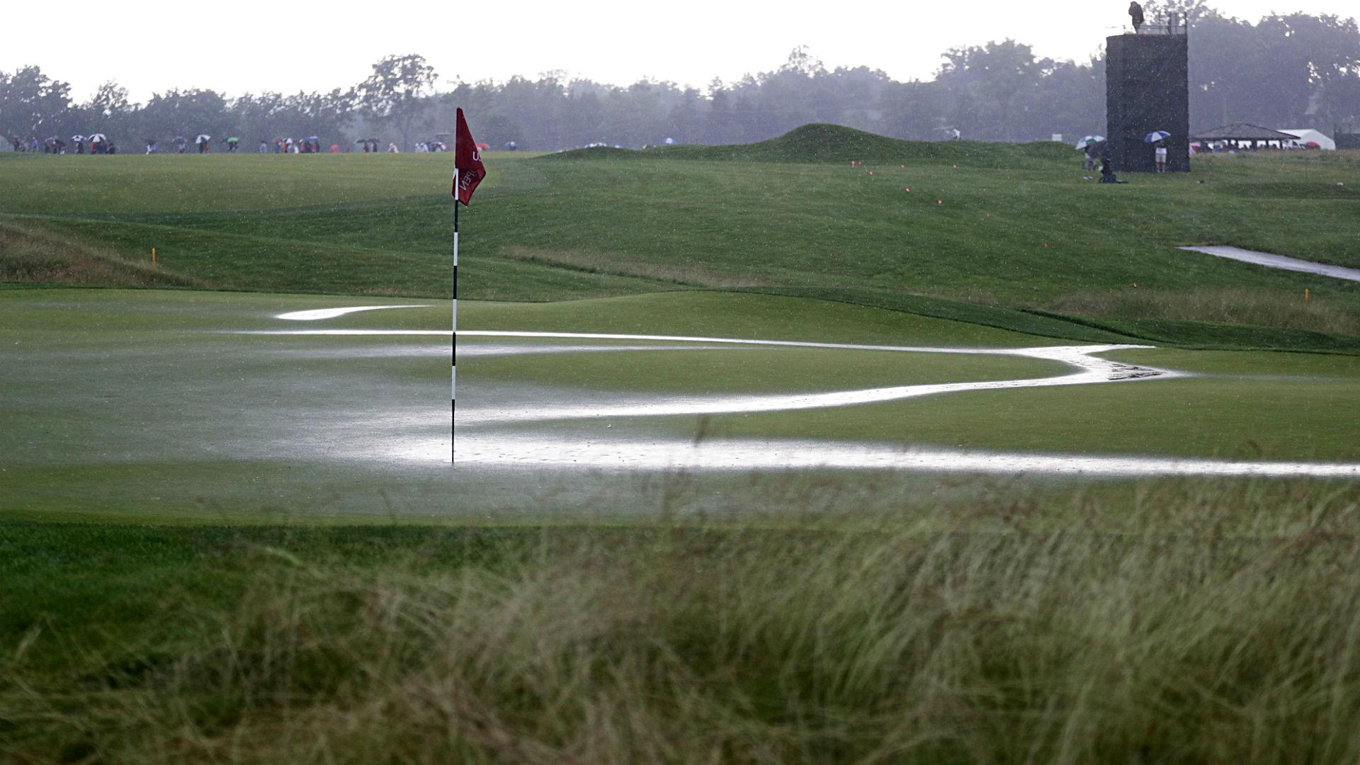 u s  open golf 2016  schedule  pairings  tee times  tv for