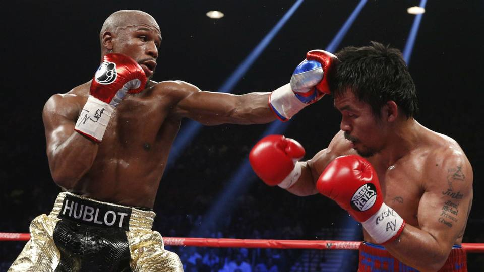 floyd mayweather claims he will return to fight manny pacquiao this