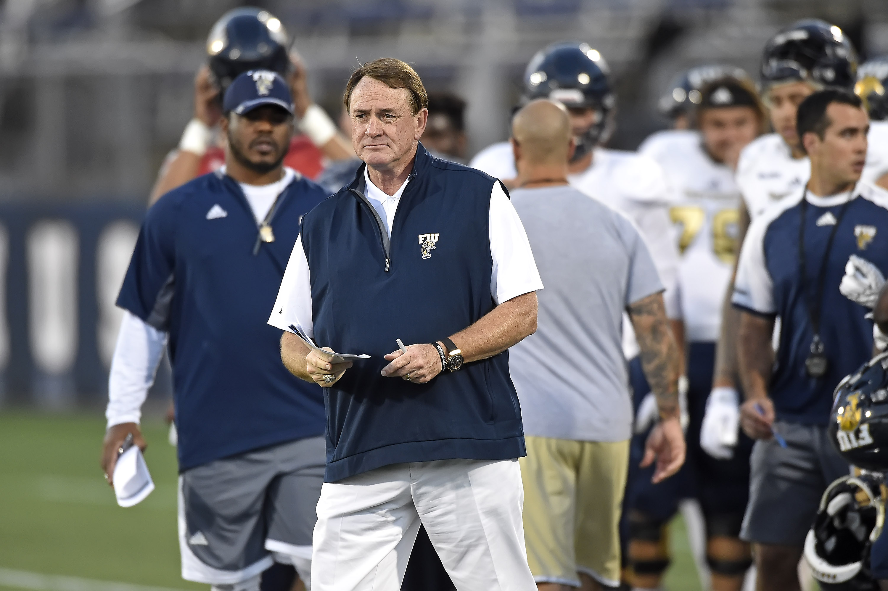Butch Davis\' 35 years of coaching has him ready for toughest ...