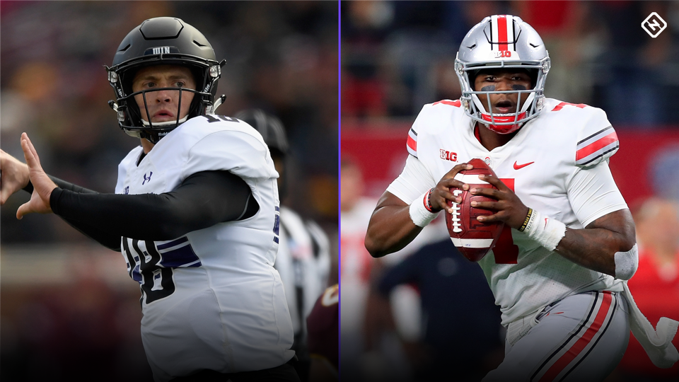 What time is the Big Ten championship game  TV channel odds for Ohio State  vs. Northwestern 63292d8a7