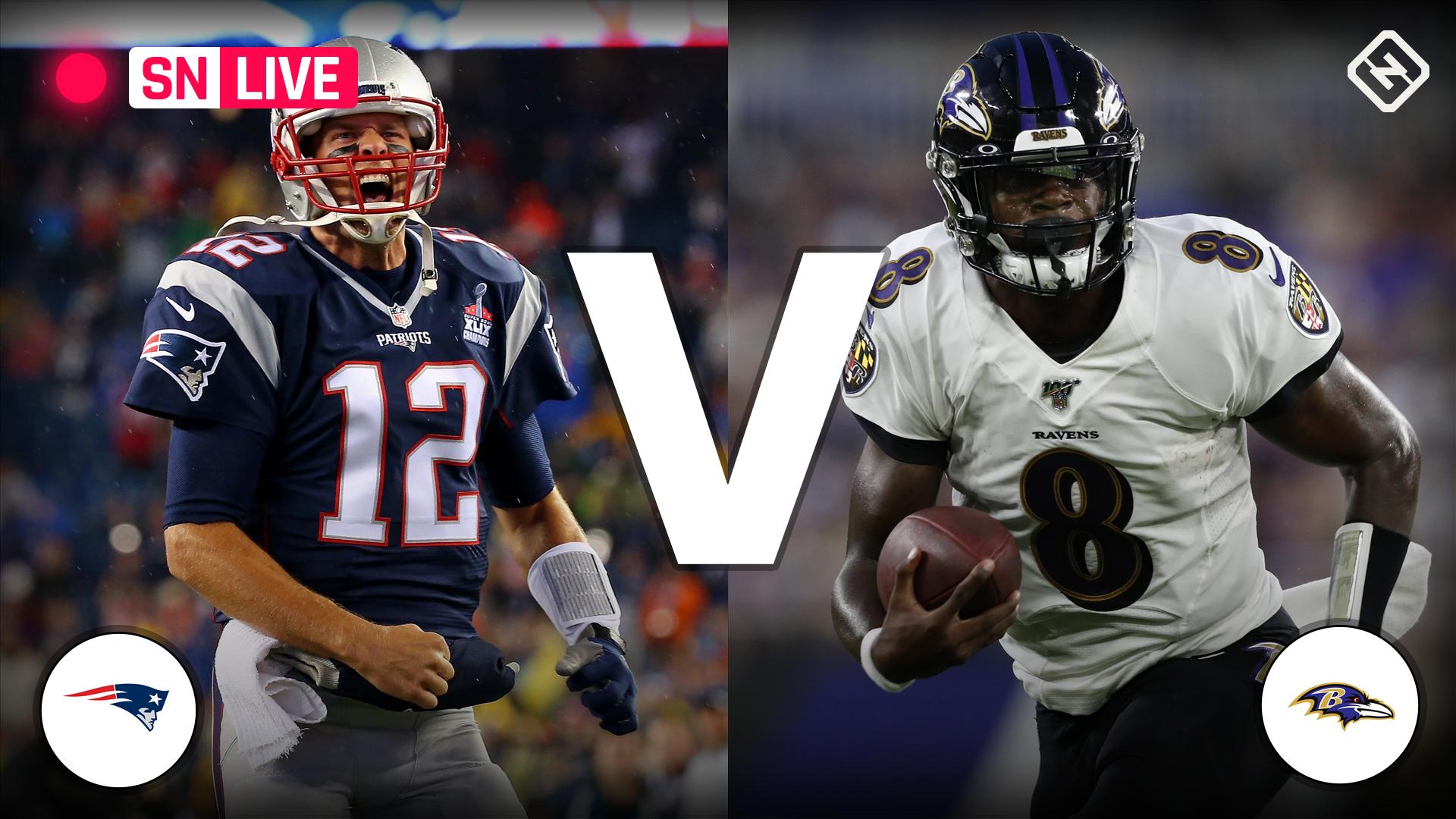 Patriots vs. Ravens: Live score, updates, highlights from 'Sunday Night Football' showdown