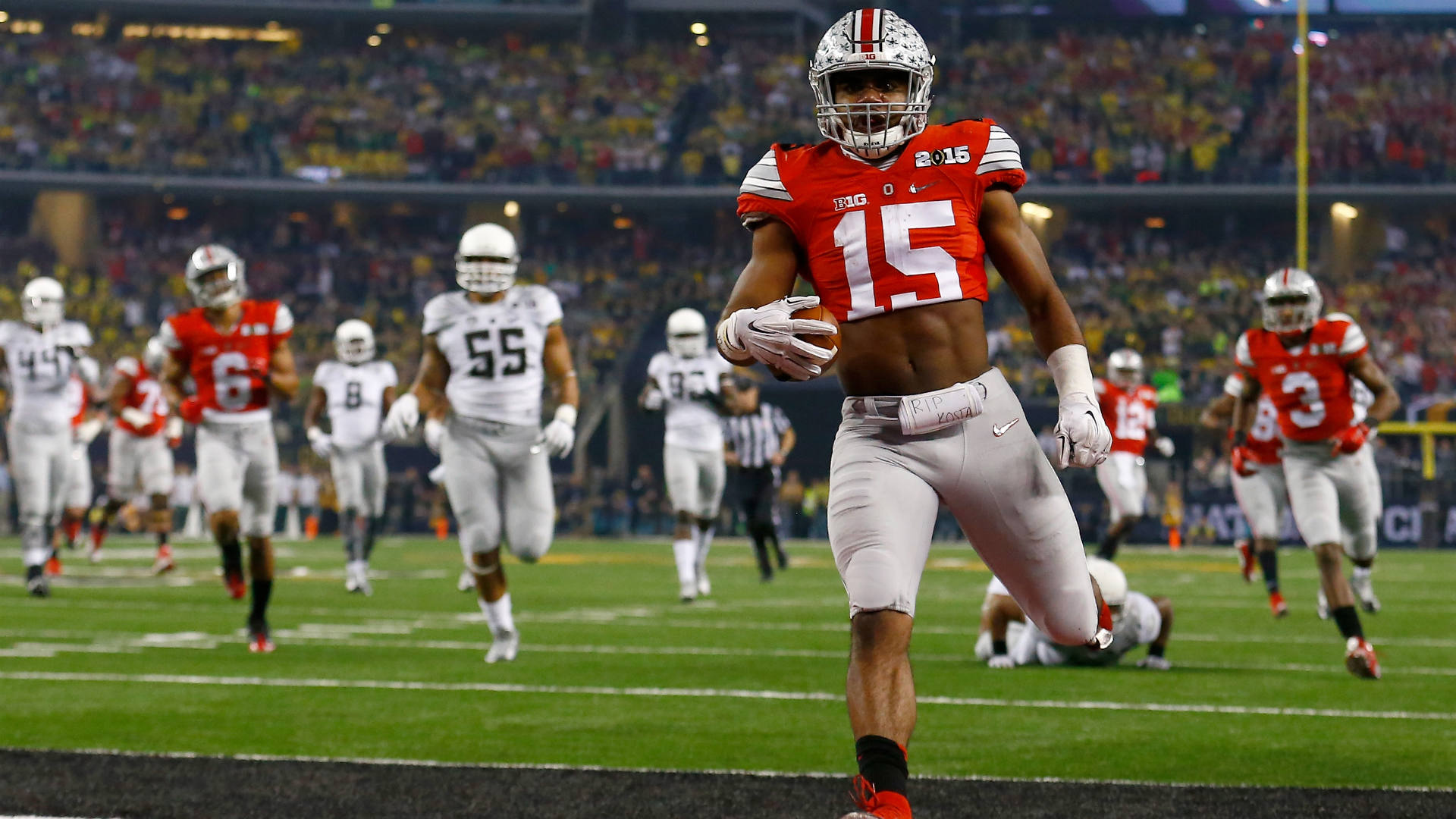 Vegas book offering 10-1 odds on an Ohio State undefeated season