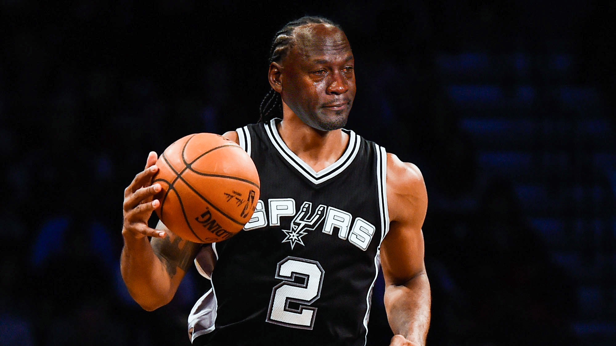 Kawhi Leonard Has No Idea What The Crying Jordan Meme Is