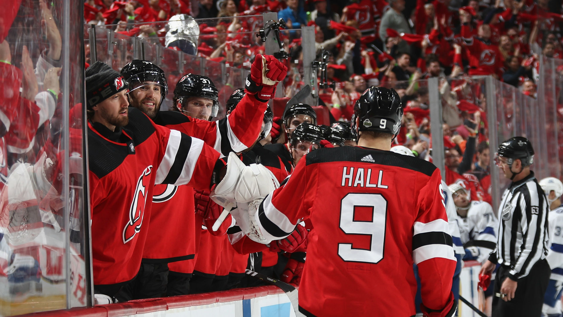 NHL playoffs 2018: 'Emotional leader' Taylor Hall paces ...