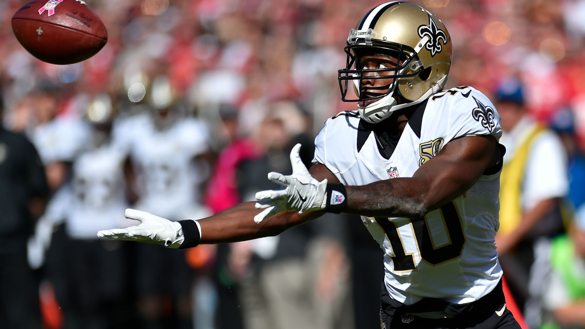 Patriots Aquire Receiver Brandin Cooks From Saints for Top Draft Pick