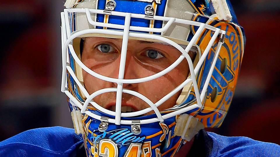 Blues Rookie Goalie Jake Allen To Start Game 1 Vs Wild Nhl