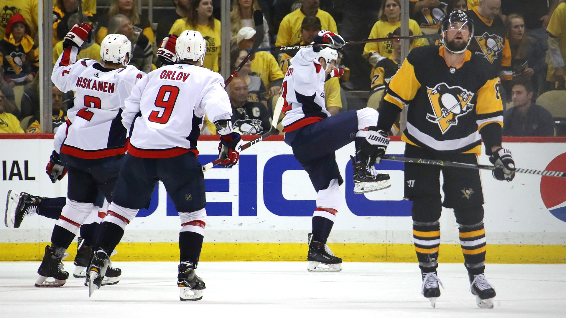 NHL Playoffs 2018: Capitals advance to East finals for first time in 20 years