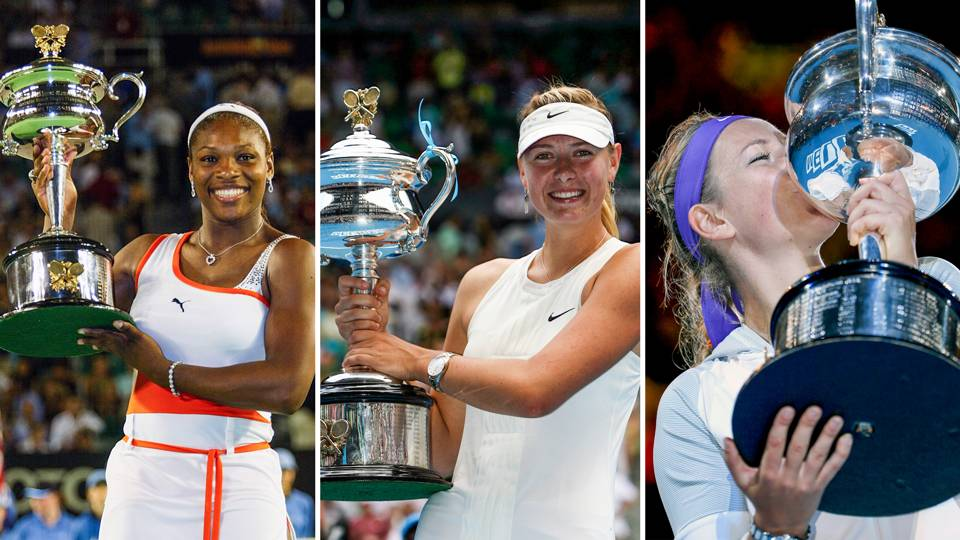 Australian Open women's winners of the 21st century