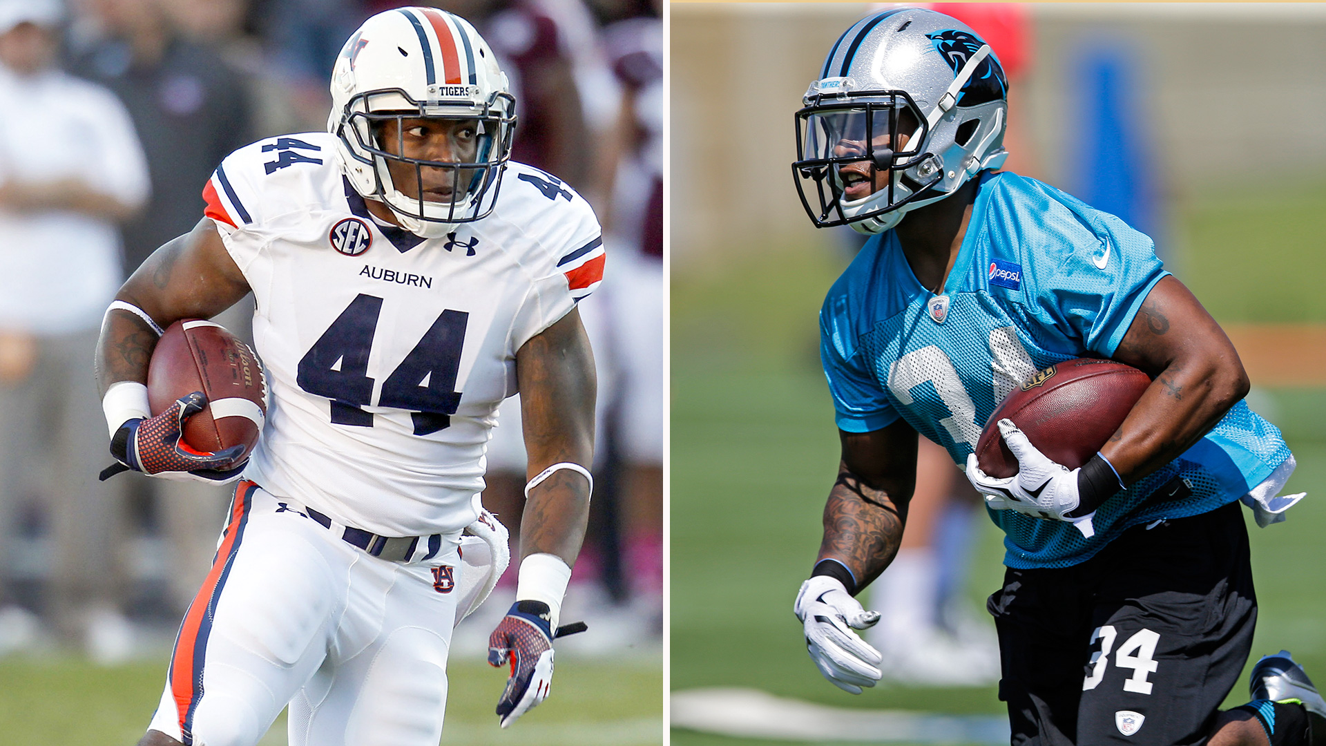 Artis-Payne, 'the other Cam' from Auburn, a natural in Panthers offense