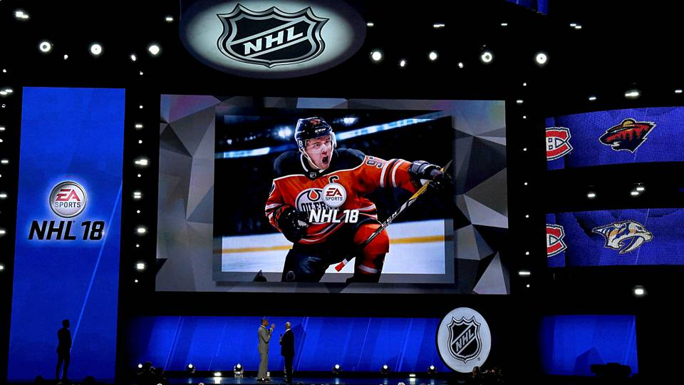 9b1a3c7fd68 Connor McDavid named cover athlete for  NHL 18