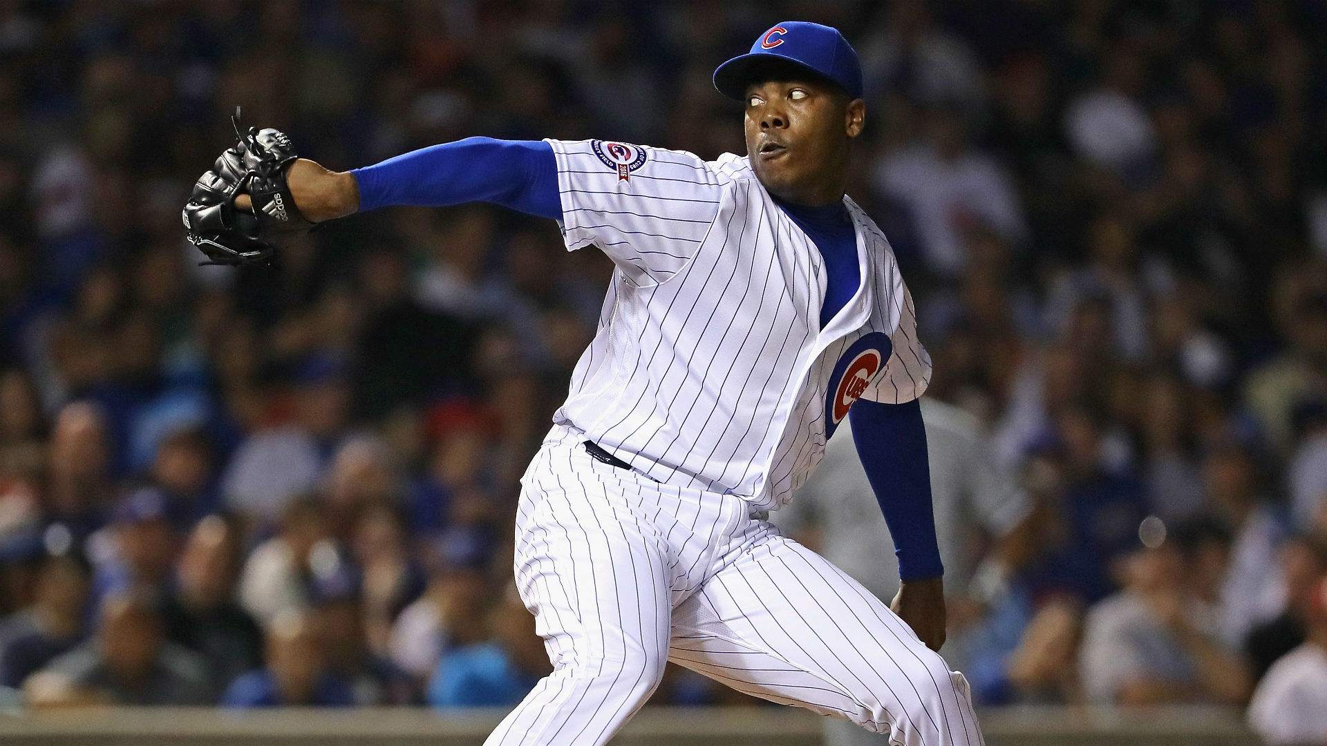 Cubs apologize for 'irresponsible' song choice as pitcher exits the mound