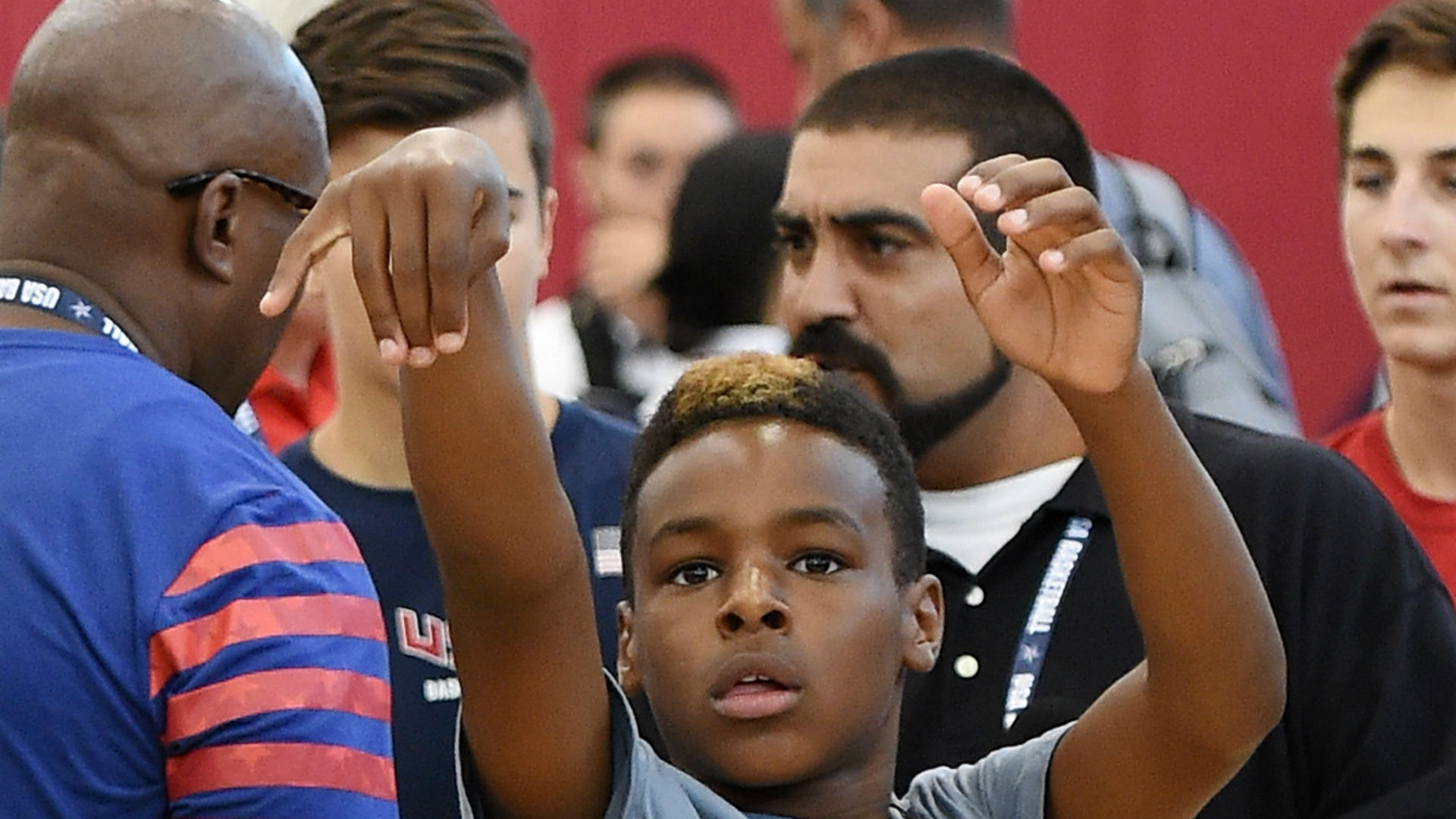 LeBron James Jr.'s highlights show he can throw pinpoint passes just like his dad - NBA - Sporting News ...