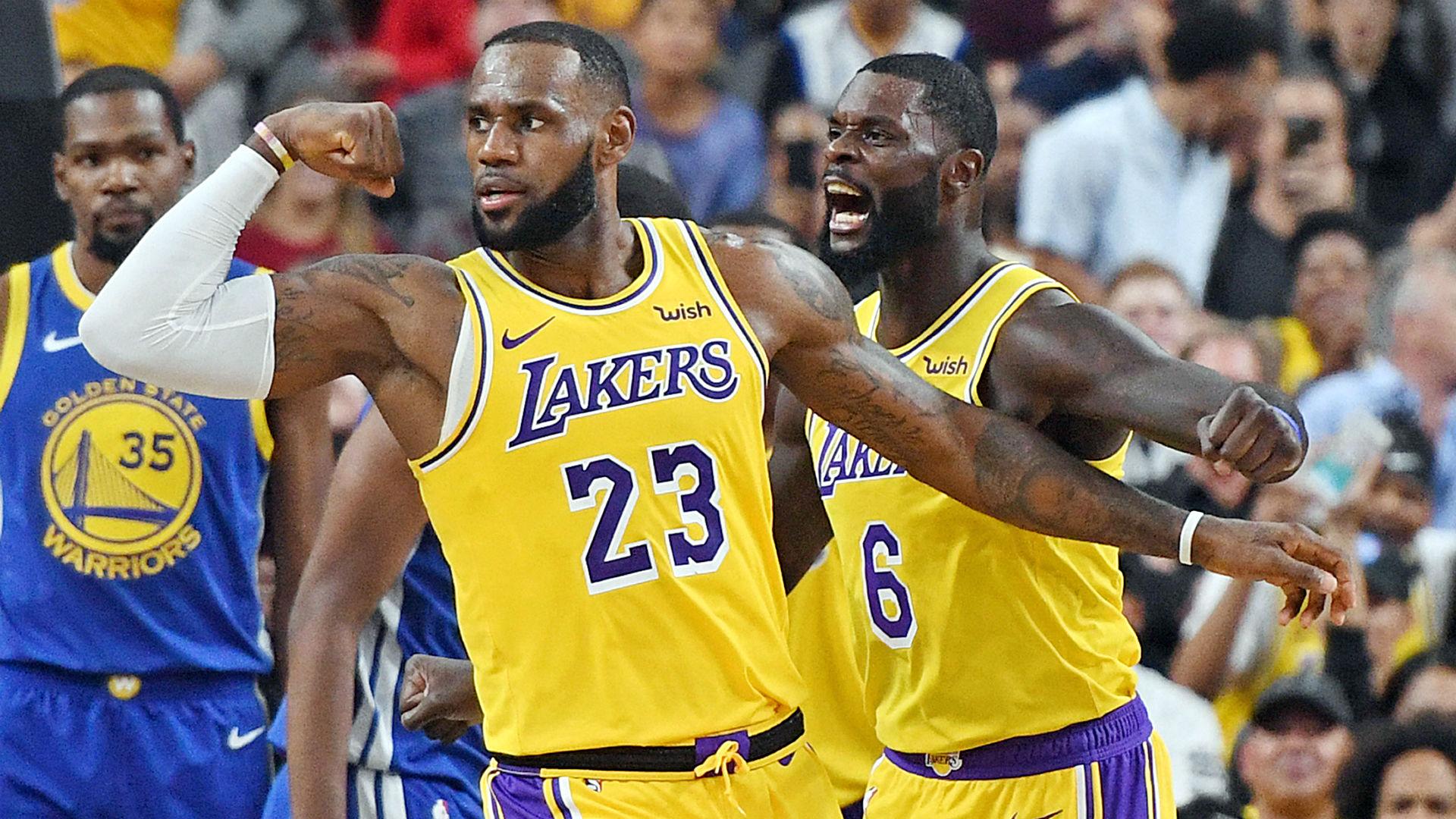 Lebron Lakers Ftr