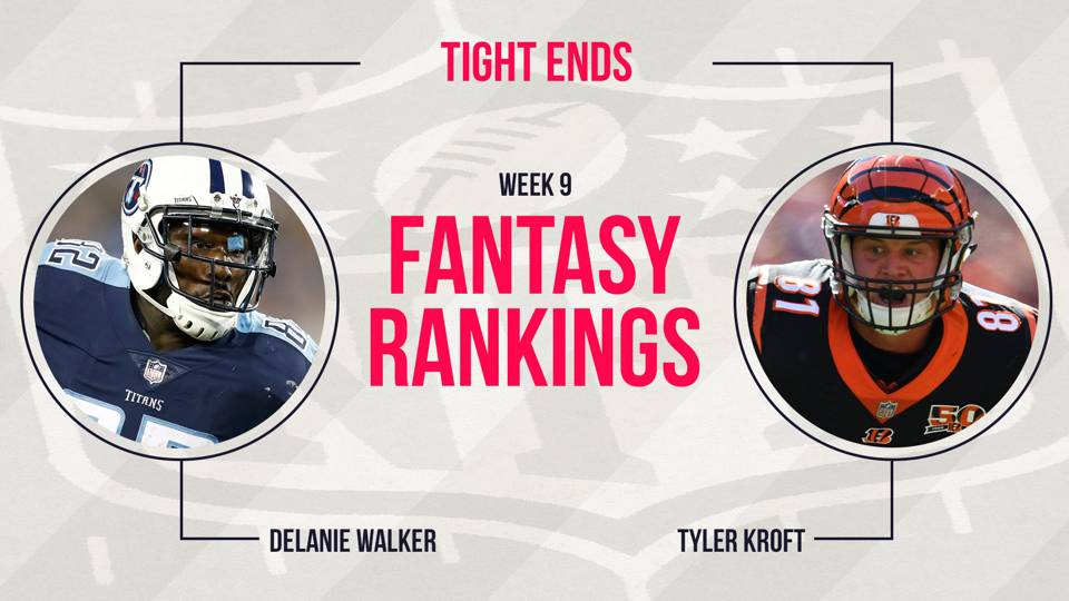 Fantasy-TE-Rankings-Week-9-FTR