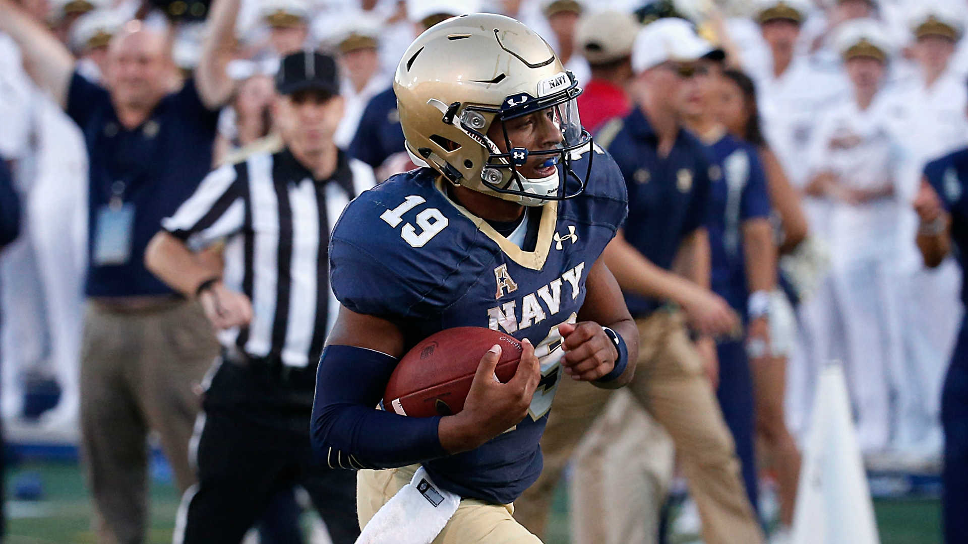 Navy at Houston betting lines and pick - AAC West on the line