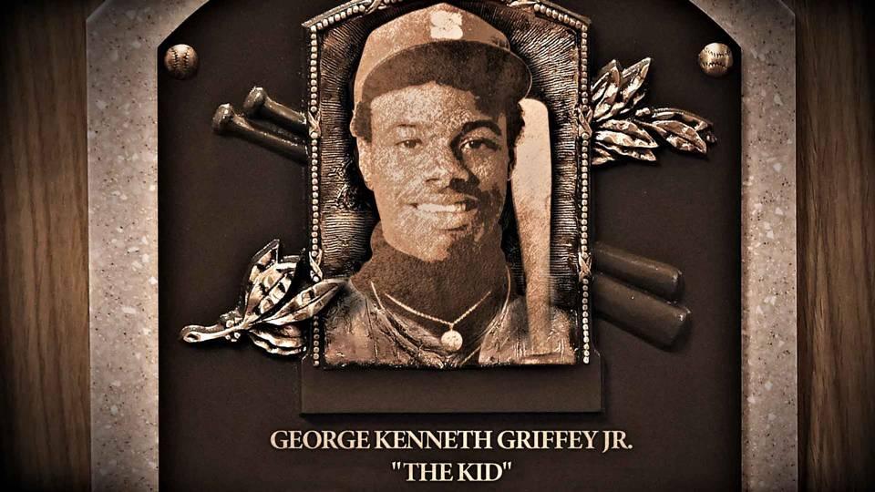 Ken Griffey plaque ftr illo