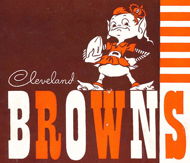 Cleveland Browns Browns Elf Stripe Wallpaper Photo