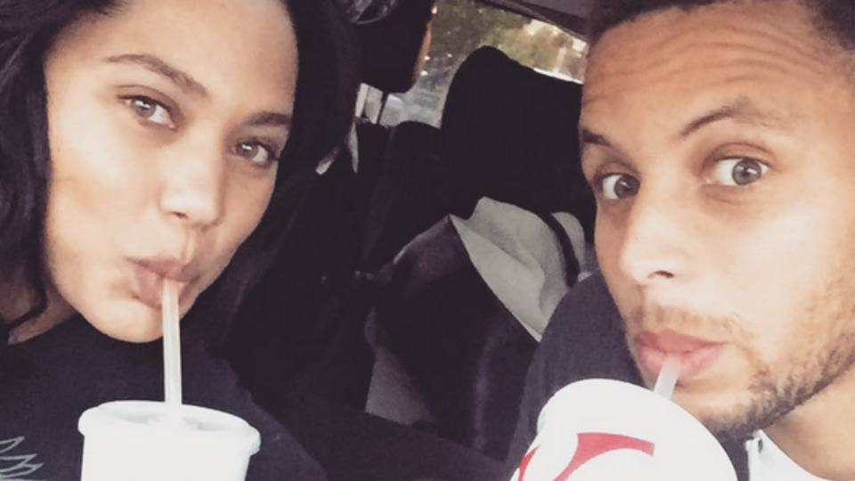 Steph ayesha curry celebrate wedding anniversary with chicken curry nuggets ftr instagram 073115 junglespirit Choice Image