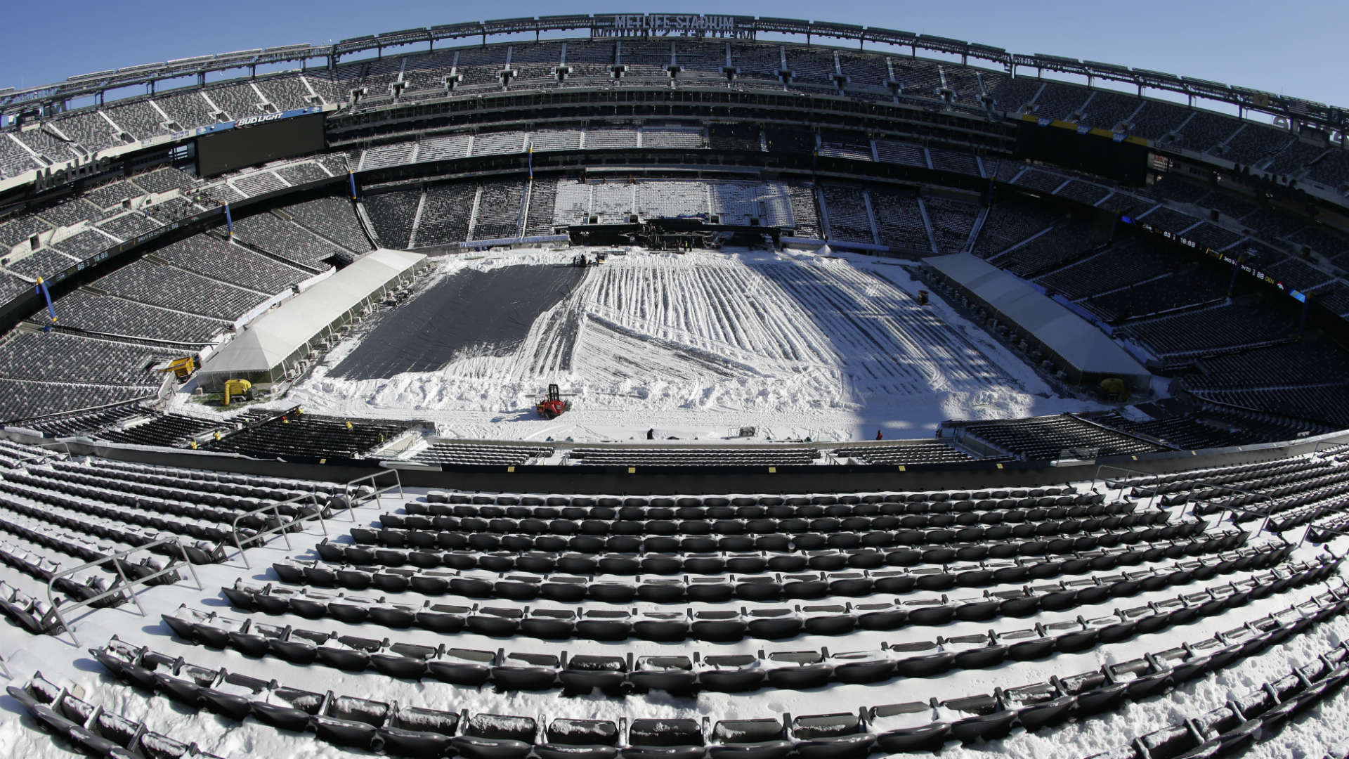 Super Bowl schedule and weather report