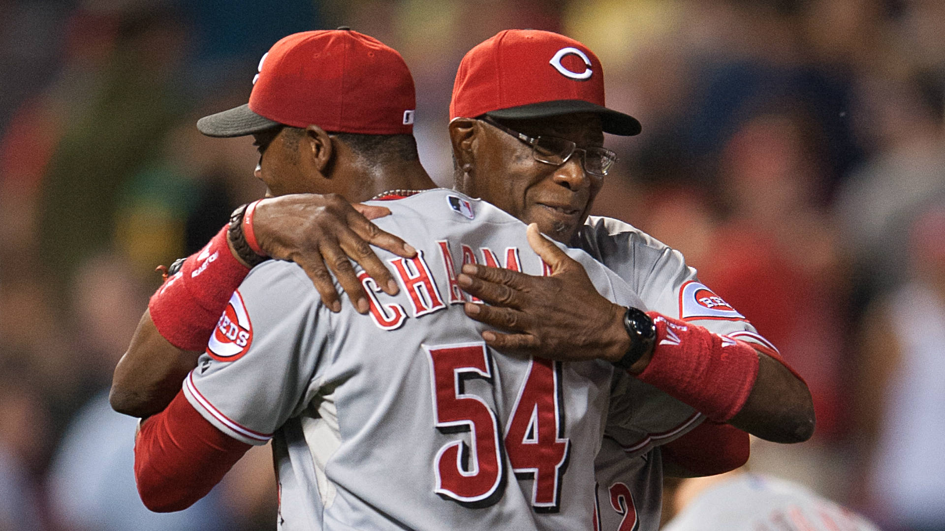 Aroldis Chapman Dusty Baker FTR Getty.jpg