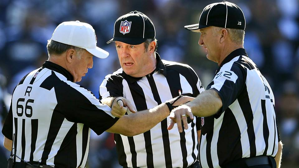 Leave The Refs Alone Its Not Their Fault Your Team Lost Nfl