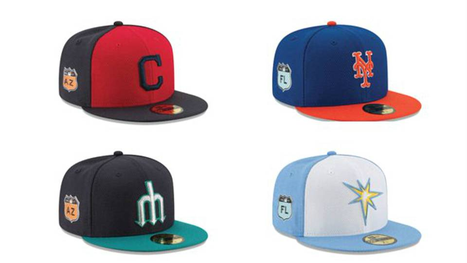 MLB unveils 2017 spring training uniforms e26542ad1c1