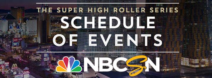 Super High Roller Bowl on NBCSN