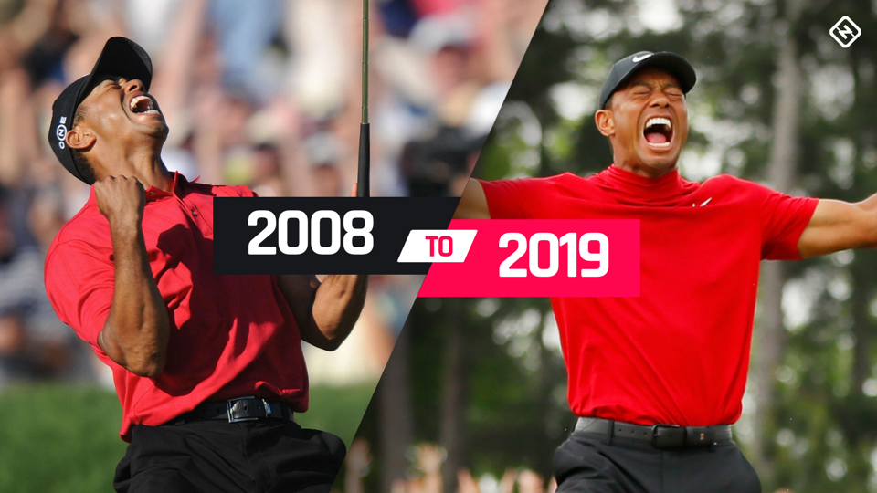 Flashback to 2008, when Tiger Woods won his last major