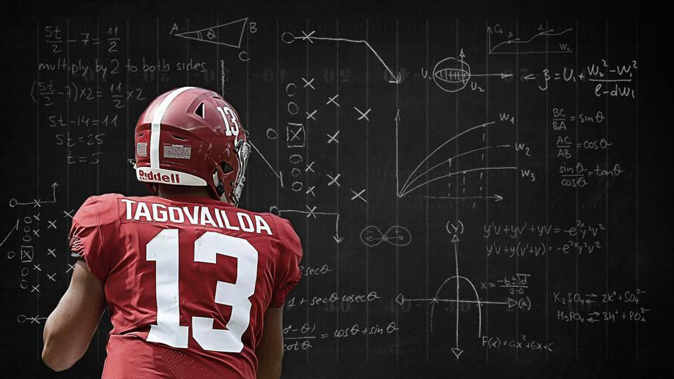 Tua Tagovailoa's insane Alabama stats paint pretty picture ...