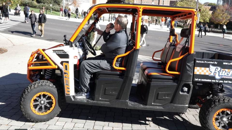 Tennessee Ans Golf Cart on