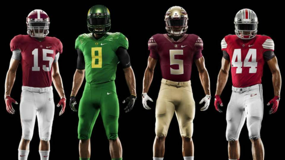 Nike unveils College Football Playoff uniforms  d52712297