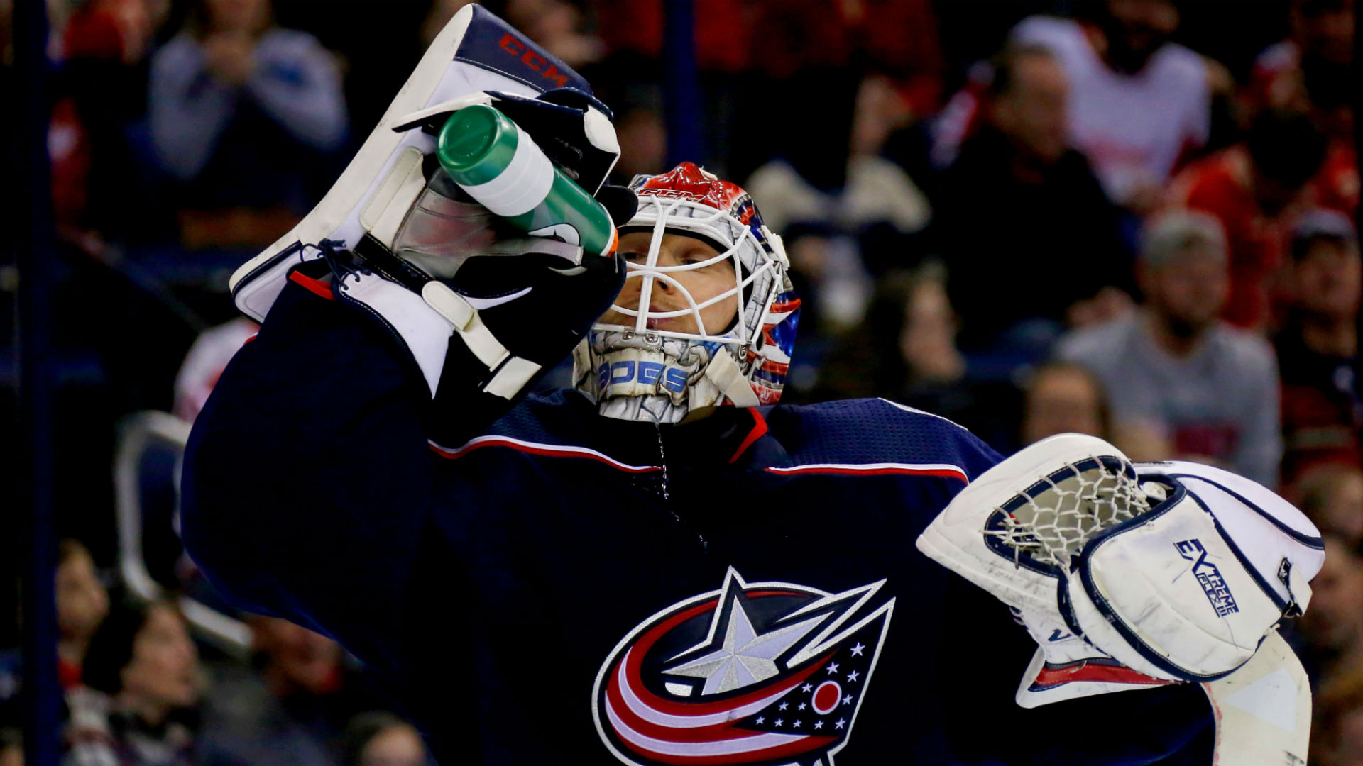 'A Blue Jacket for now': Columbus facing no-win situation with Sergei Bobrovsky